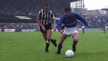 David Lowe scored on this day in 1987 in the win over Newcastle and in 1989 as the Blues beat Northa