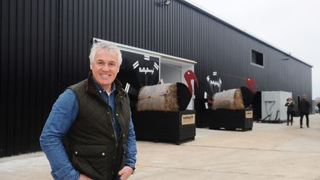 Paul Kelly at the Kelly Turkeys factory in Essex Picture: LUCY TAYLOR