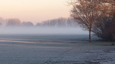 The setting for the Hackney Marshes parkrun, when columnist Carl Marston visited in January, 2017. T