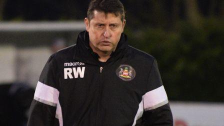 Needham boss Richard Wilkins, searching for another victory Photo: BEN POOLEY