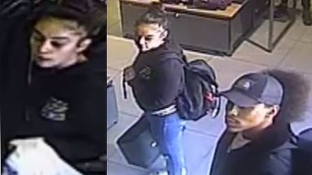 Police would like to speak to these people in connection to a theft in Braintree Picture: ESSEX POLI