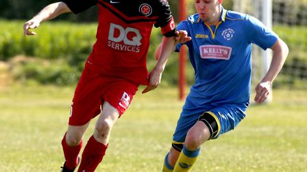 Mark Storey, left, in action for Henley, who won 8-0 at the weekend. Picture: ARCHANT