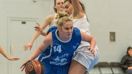 Harriet Welham was brilliant again for Ipswich, scoring 31 points and grabbing 13 rebounds, in their