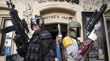 Bury St Edmunds Moyses Hall Museum will host another sci-fi exhibition Picture: Mark Westley Pho