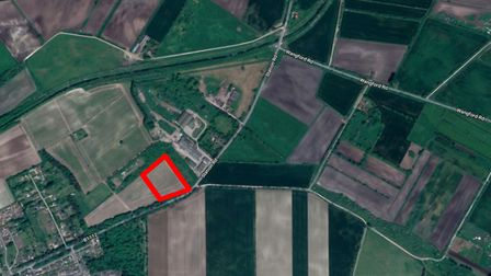 Proposed site for new school in Lakenheath Picture: GOOGLE MAPS