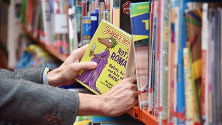 The most popular books flying off shelves at Suffolk Libraries have been revealed Picture: SONYA DUN