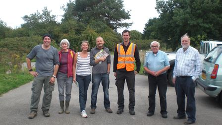 Members of Transition Ipswich took part in the Great British Beach Clean for the second year and cle