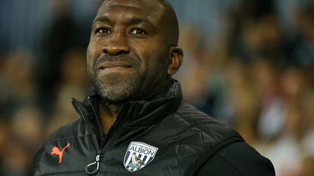 Darren Moore's West Brom will play Ipswich Town live on Sky TV on Friday, November 23. Picture: PA S