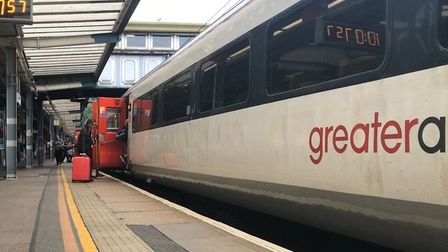 Some Greater Anglia services have been affected Picture: NEIL PERRY