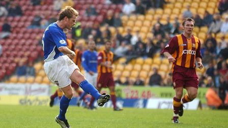 Alan Mahon scored his only Ipswich Town goal on this day in 2003
