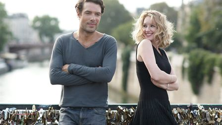 Ludivine Sagnier and Nicolas Bedos star in the romantic comedy Love Is In The Air as two former love