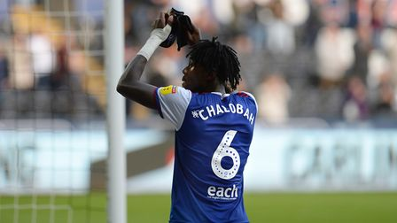 Trevoh Chalobah thanks the travelling fans at Swansea City Picture: PAGEPIX