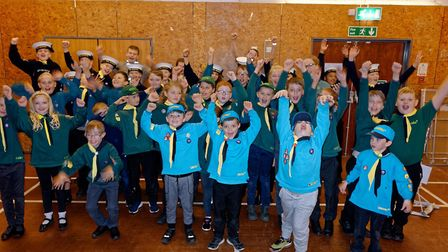 3rd Sudbury Scout Group annual presentation event. Picture: ROBIN LOWE