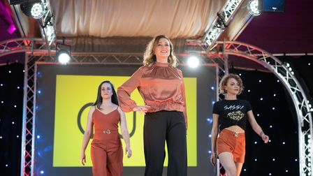 Autumnal colours at Suffolk Fashion Show 2018 Picture: HEFFS PHOTOGRAPHY