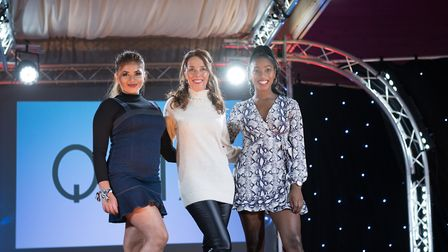 Suffolk Fashion Show at Trinity Park. Picture: HEFFS PHOTOGRAPHY