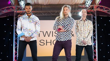 Male models at Suffolk Fashion Show 2018 Picture: HEFFS PHOTOGRAPHY