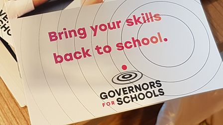 The Govenors for Schools Suffolk campaign launched in Ipswich Picture: NEIL PERRY