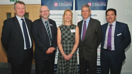 Ellisons Solicitors property and construction briefing at the communityj stadium, Colchester Guy L