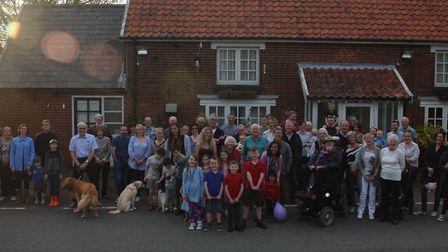 Villagers have rallied behind a campaign to save the pub Picture: CMCH