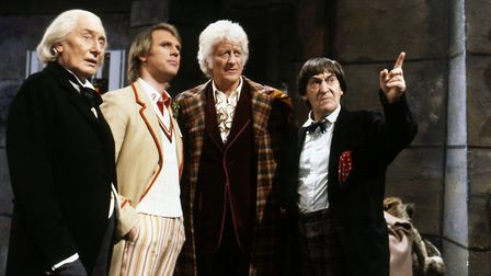 The Five Doctors anniversary special 1983. Photo: BBC