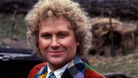 Sixth Doctor Colin Baker faces an uncertain future in Trial of a Time Lord. Photo: BBC