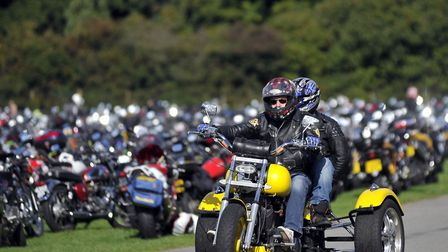 Hundreds of motorcycle enthusiasts are expected at the Copdock Motorcycle Show at Trinity Park Pictu