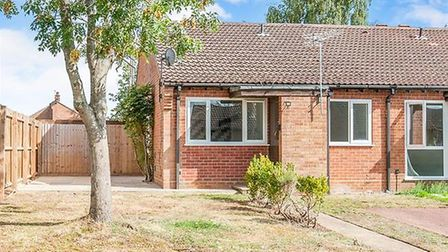 This bungalow in Lakenheath has an asking price of £140,000. Picture: ABBOTTS