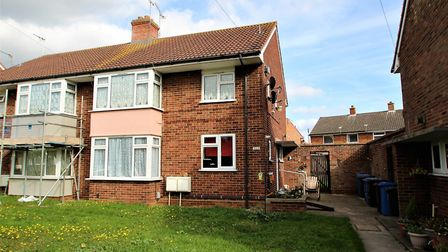 This flat in Bittern Close, Ipswich, is on the market for £100,000. Picture: MARKS & MANN