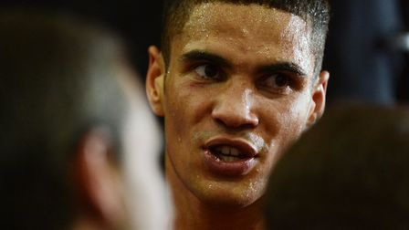 Anthony Ogogo. Picture: NICK BUTCHER