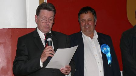 Andy Wood elected for Clacton North. Picture: TENDRING DISTRICT COUNCIL