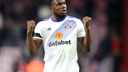 Victor Anichebe spent a year at Sunderland. He has been capped 11 times by Nigeria. Photo: PA