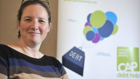 Mrs Green has helped over 100 people out of debt Picture: ARCHANT