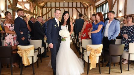 Barn weddings are increasingly popular and venues like Ivy House Country Hotel can offer the best of