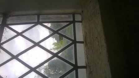 St Mary's Church in Badwell Ash suffered damage to six segments of glass, including stained glass, p