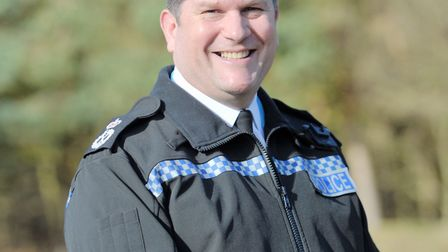 Chief Constable Gareth Wilson. Picture: SARAH LUCY BROWN
