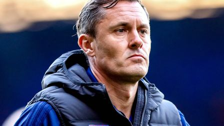 Ipswich Town manager Paul Hurst walks towards the tunnel following Saturday's 2-0 home defeat to QPR