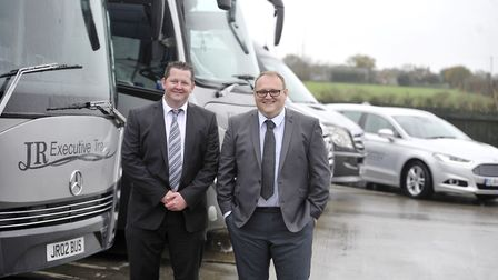 Andy Fisk and Ian Tooke are the joint managing directors at JR Executive Travel. They are pictured