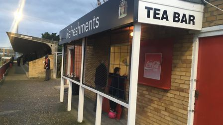 Earlsmead Stadium oozes character and personality. You can also get a good cup of tea! Picture: CARL