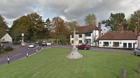 Police are investigating reports of a shooting in Great Warley Picture: GOOGLE