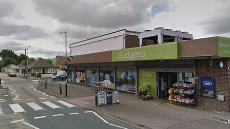 The raiders ripped a cash machine from Budgens in Ferry Road, Hullbridge Picture: GOOGLE