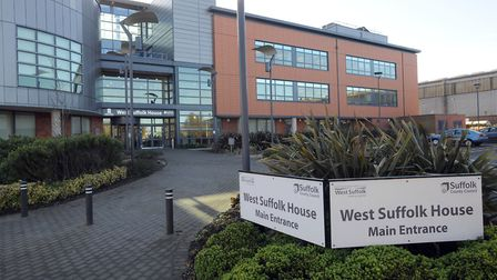 West Suffolk House in Bury - the home of the new council.