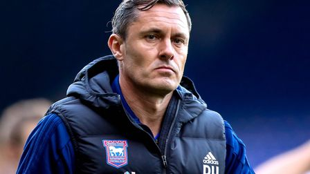 Paul Hurst has been sacked as Ipswich Town manager. Picture: STEVE WALLER