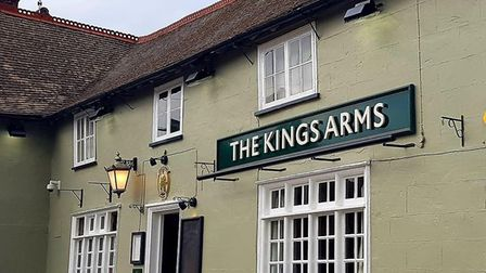 The Kings Arms, Haughley Picture: CONTRIBUTED