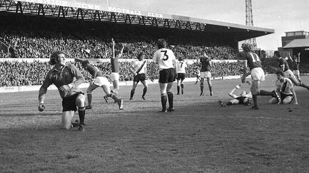 On this day in 1976, Town remained unbeaten at home in the 1976-77 season
