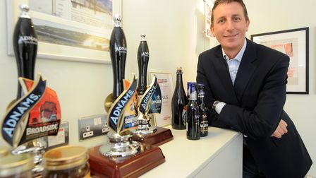 Adnams chief executive Andy Wood Picture; ANDREW PARTRIDGE