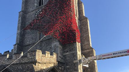 The display will mark the centenary of the end of the First World War Picture: SUDBURY TOWN COUNCIL