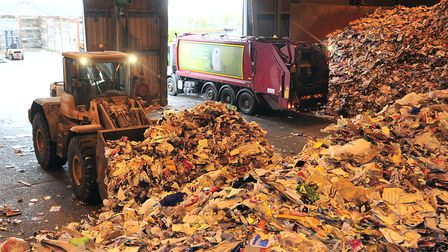 Plastic bags and film will no longer be accepted at Viridor's recycling plant at Great Blakenham Pic