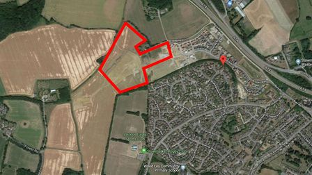 Work has been approved of phase 2 at Brooke Way Stowmarket Picture: GOOGLE MAPS