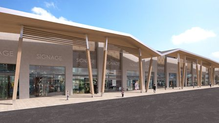 An artist's impression of Tollgate Village Picture: CORSTORPHINE + WRIGHT ARCHITECTS