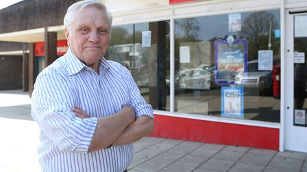 """Ernie Broom, from Bury St Edmunds, described hospital parking charges as """"scandalous"""" Picture: RICHA"""